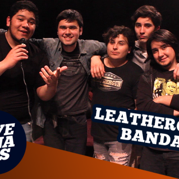 Lanzamiento Primer Disco Leathergun
