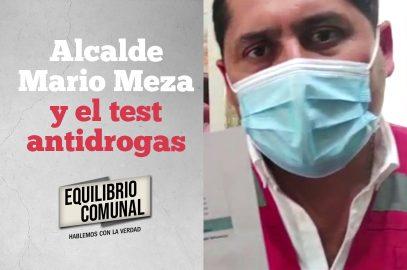 Marcelo Campos analiza comentado test «antidrogas» del alcalde Mario Meza
